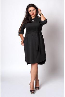Недороге нарядне плаття чорного кольору