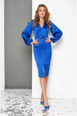 Святкове плаття міді кольору електрик