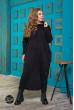 Чорне тепле плаття великих розмірів