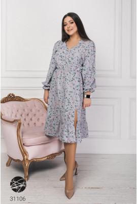Блакитне неймовірно ніжне жіночне плаття