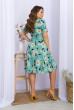 М'ятне зачаровуюче плаття для жінок з королівськими формами