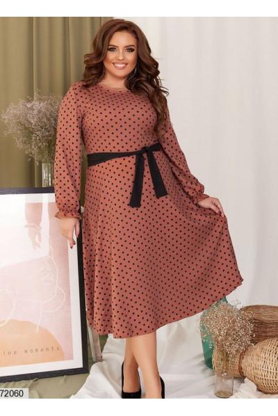 Вишукане плаття кольору капучіно