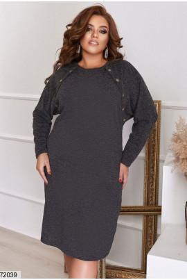 Чорне універсальне плаття на кожен день