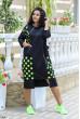 Чорне зручне плаття в спортивному стилі для повних жінок