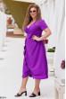 Фіолетове чудове жіноче плаття для жінок з королівськими формами
