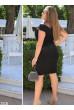 Чорне елегантне плаття футляр