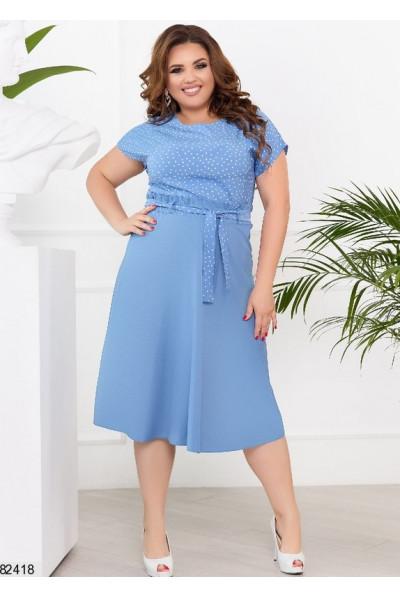 Трендове плаття великого розміру джинсового кольору