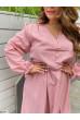 Пудрова ніжна літня сукня великих розмірів