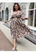 Літнє неймовірно витончене плаття кольору мокко