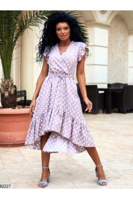 Актуальна ніжна сукня кольору мокко