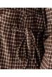 Коричневе плаття з трикотажу антога