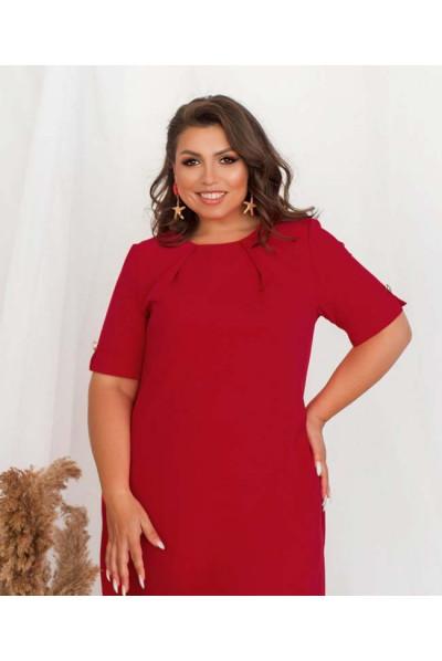 Червоне універсальне яскраве плаття