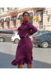 Привабливе витончене плаття кольру фуксія