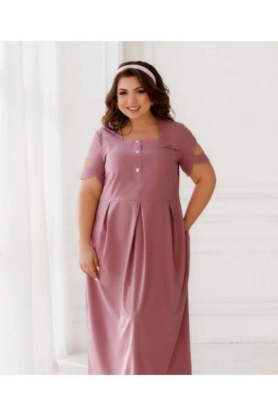 Фрезова мінімалістична сукня міді