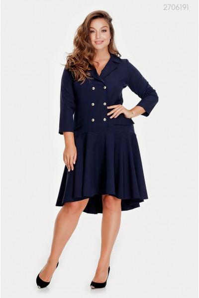 Чудове темно-синє плаття plus size
