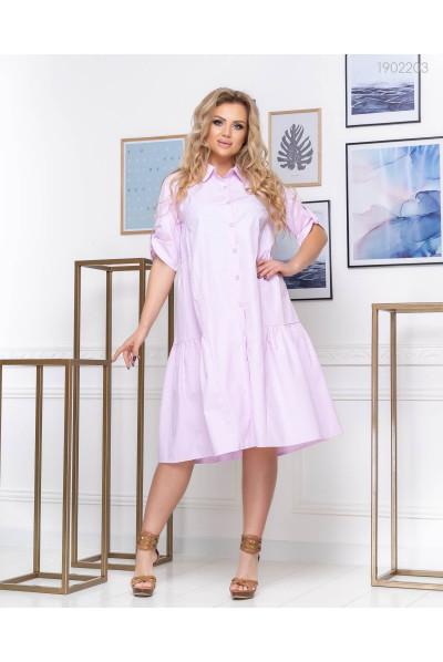 Рожева сукня-сорочка