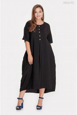 Вільне чорне плаття