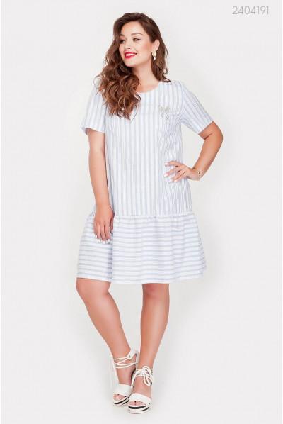 Модне літнє плаття великого розміру