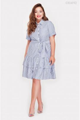 Літнє плаття у смужечку