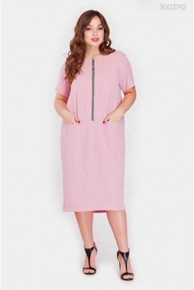 Рожеве спортивне плаття великого розміру