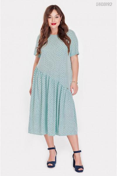 Стильне літнє плаття pluse size
