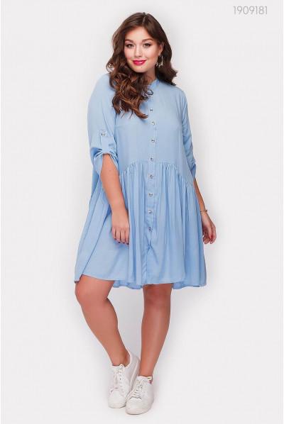 Батальна блакитка сукня