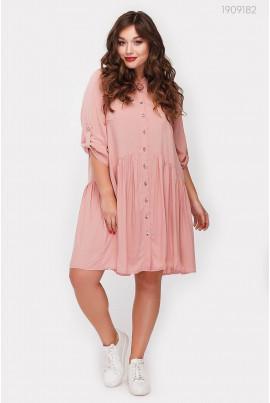 Батальна фрезова сукня