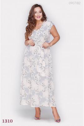 Літнє плаття в підлогу розміру plus size