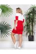 Спортивне плаття футболка червона