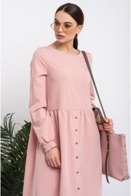 Пудрове ніжне плаття міді