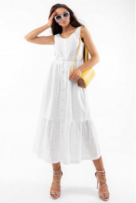 Білий ніжний літній сарафан