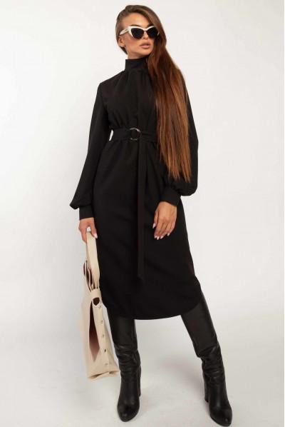 Чорне універсальне плаття великих розмірів