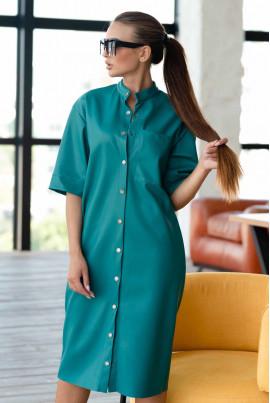 Гламурне плаття кольору бриз великих розмірів