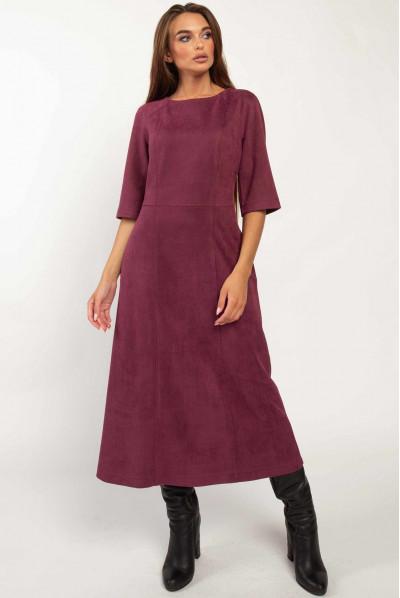 Фіолетове плаття міді великих розмірів