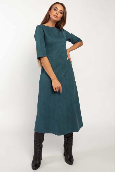 Універсальне плаття кольору бриз для повних жінок