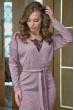 Нарядне плаття ніжного кольору з мереживним топом