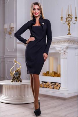 Чорне вишукане вечірнє плаття