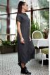 Модне джинсове плаття трансформер чорне