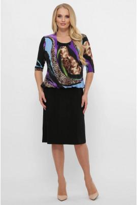 Трендове практичне плаття з оригінальним принтом