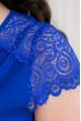 Заворожуюче плаття максі кольору електрик