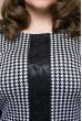 Чорне практичне плаття міді для жінок з апетитними формами