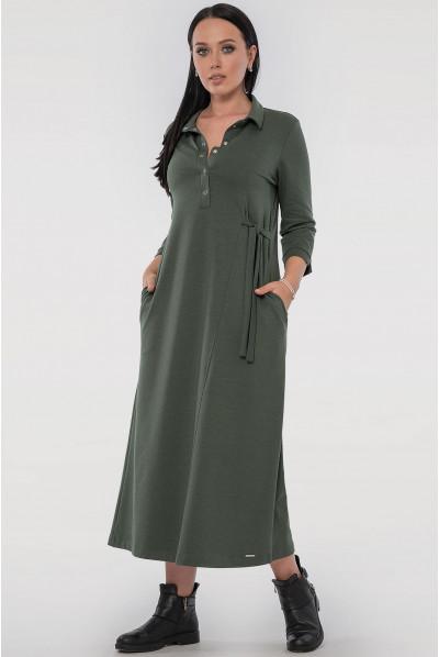 Оригінальне плаття кольору хакі