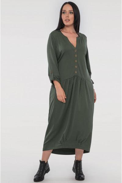 Сучасне плаття кольору хакі