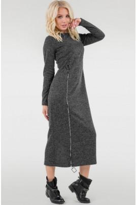 Темно-сіре зручне спортивне плаття