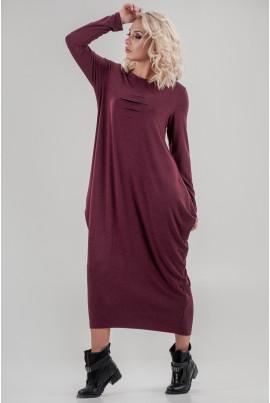 Бордове зручне плаття міді