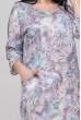 Фіолетове ніжне плаття для повних жінок