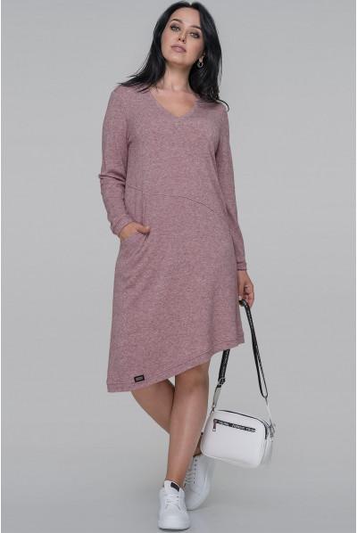 Фрезове оригінальне плаття трапеція