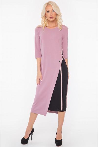 Фрезова приваблива сукня футляр з зав'язками